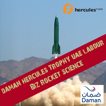NEW LABOUR ANNOUNCED FOR THE DAMAN Hercules Trophy UAE 2014!