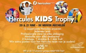 Hercules Kids Trophy info
