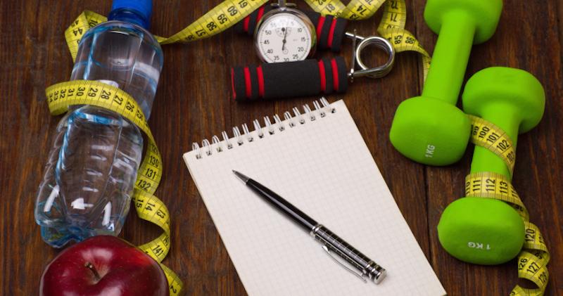 notebook-plan-diabetes-eat-after-workout