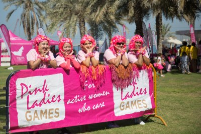 Pink Ladies Games 2017