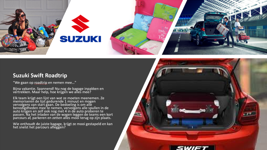 Suzuki Swift Roadtrip picture
